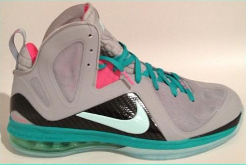 "info for 4aef0 c7b97 Nike Lebron 9 Elite ""South Beach"""